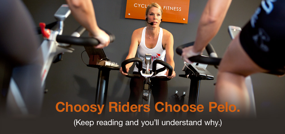 New to indoor cycling at Pelo Fitness